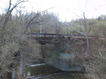 The bridge at Lick Road