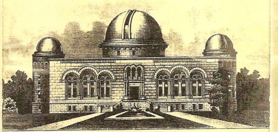 Drawing of the Planned observatory